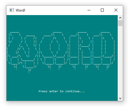 Word Guessing Game: C# Console Application • Programming is Fun