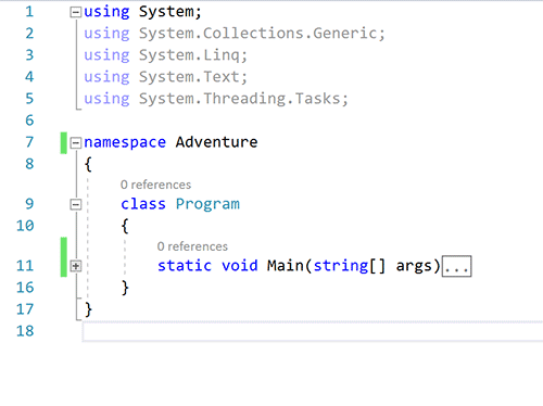 C# Adventure 02: Output • Programming is Fun